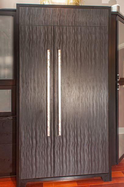 Laminated refrigerator panels